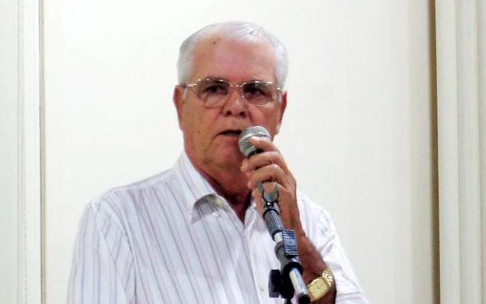 Vereador José Anacleto, de Eldorado (MS) morreu em acidente na BR 163 — Foto: Anderson Dutra/Reprodução
