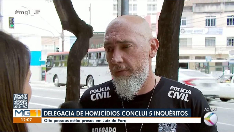 Polícia Civil conclui cinco inquéritos envolvendo homicídios em Juiz de Fora - Notícias - Plantão Diário