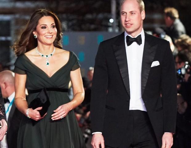 princesa Kate e príncipe william no Bafta (Foto: Reprodução Instagram)