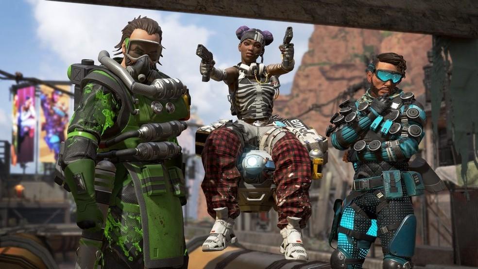 Personagens de 'Apex Legends'  — Foto: Divulgação/Electronic Arts
