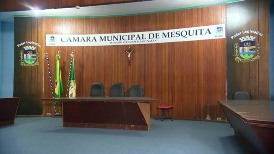 Câmara de Vereadores de Mesquita tem ordem de despejo e impasse no município do RJ continua