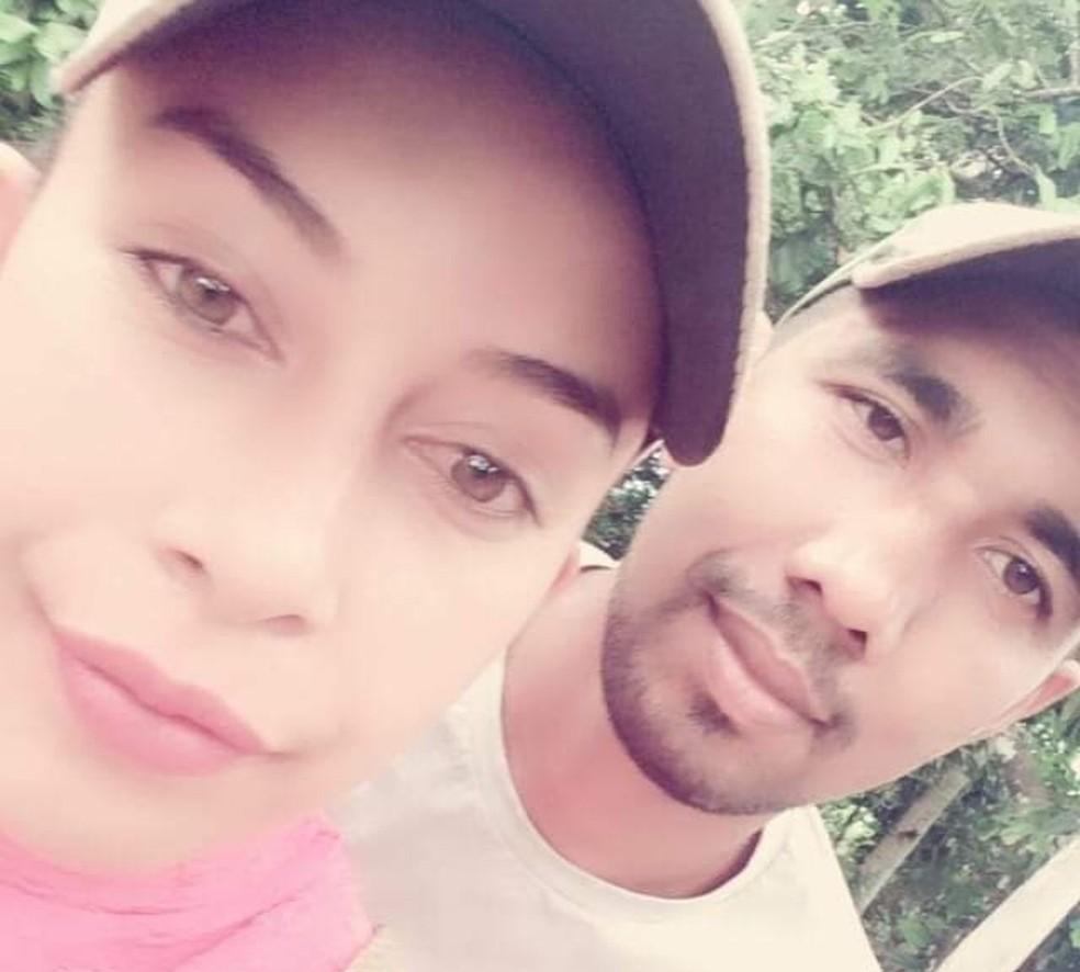 Vanessa Souza Nascimento e Osmar Pereira do Carmo estavam casados há um ano — Foto: WhatsApp/Reprodução