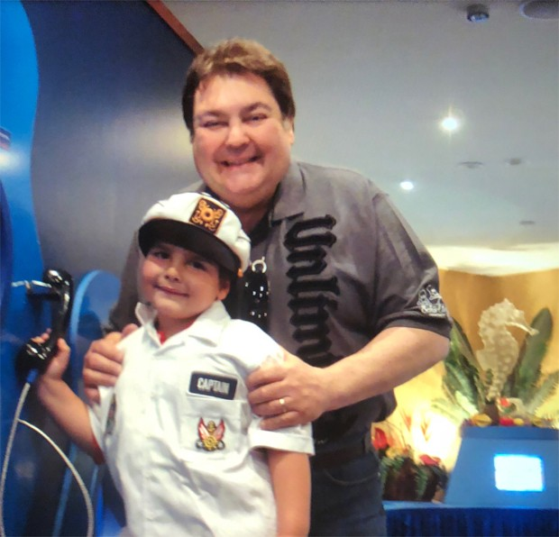 Faustão e João Guilherme (Foto: Reprodução/Instagram)
