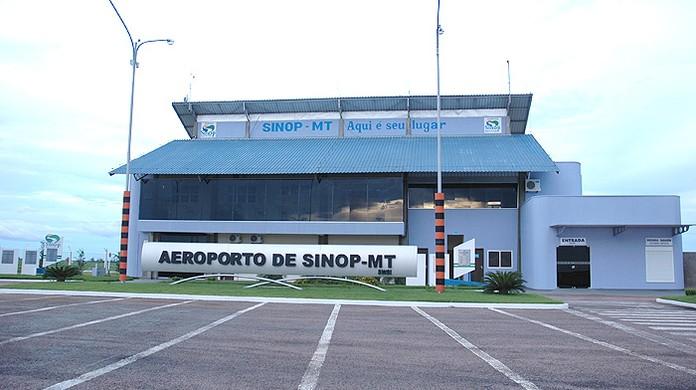 Movimentação de passageiros no aeroporto de Sinop cai 35,5% no último ano