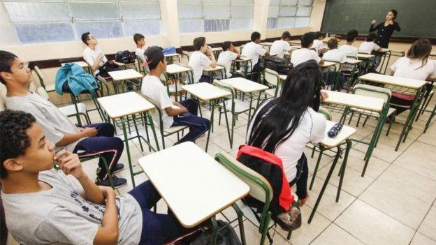 Setor público brasileiro gasta 5,4% do PIB em educação, segundo a OCDE (Foto: ANPR)