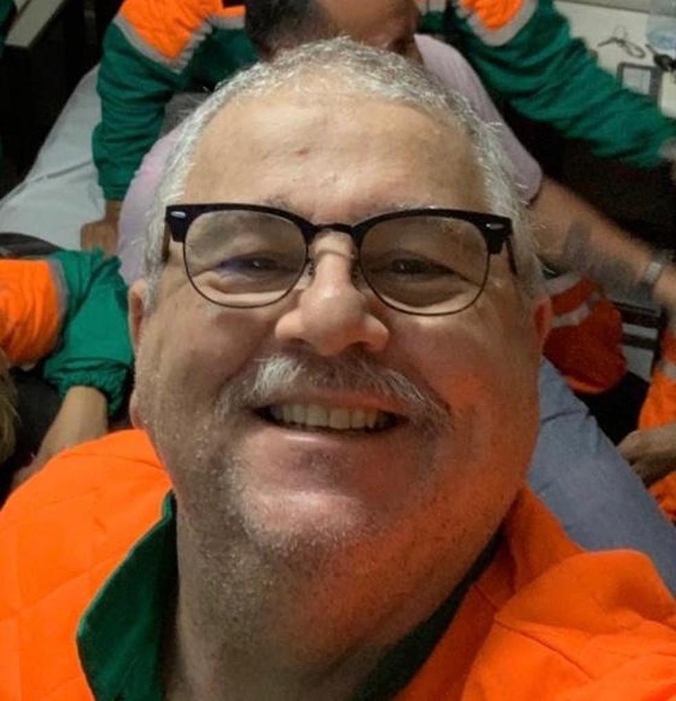 Médico e professor da UFRN Samir Assi João morreu vítima da Covid-19 em Natal — Foto: Cedida/Conselho Regional de Medicina do RN