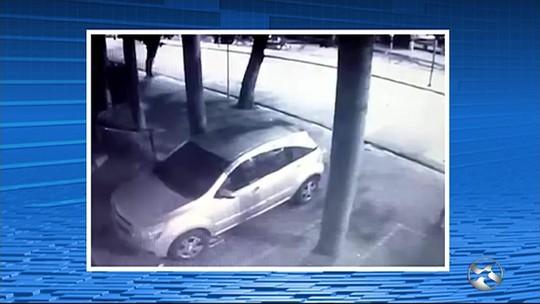 Polícia Civil divulga imagens de suposto assassino de taxista em Caruaru