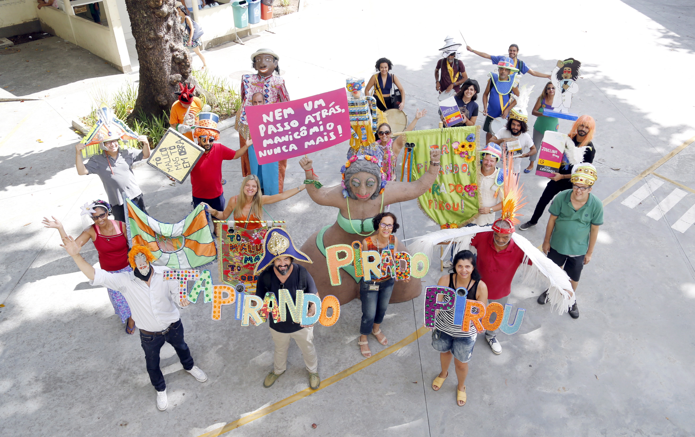 Integrantes do bloco Pirando, Pirado, Pirou!