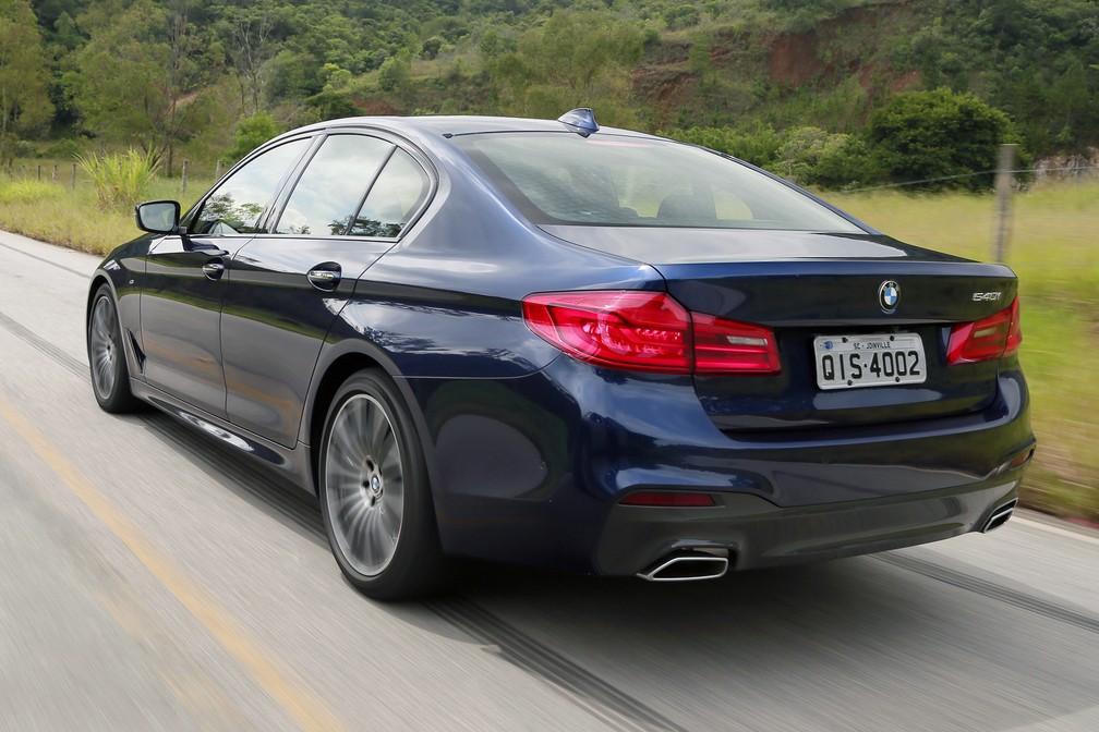 BMW 540i M Sport — Foto: Divulgação