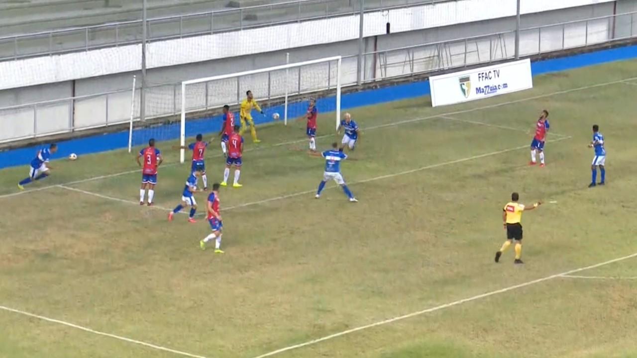 Atlético empata com Brigantino na Arena Acreana e segue sem vitórias na competição