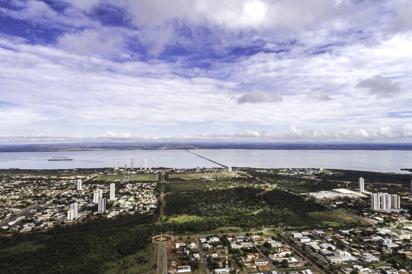 Skyline of Palmas, Tocantins (Foto: Getty Images/iStockphoto)