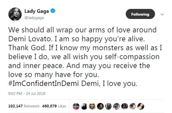 Lady Gaga (Foto: Reprodução Twitter )