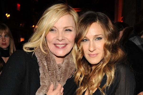 Kim Cattrall e Sarah Jessica Parker (Foto: Getty Images)