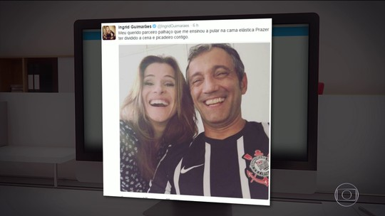 'Nossa homenagem é constante', diz viúva de Domingos Montagner, morto há um ano