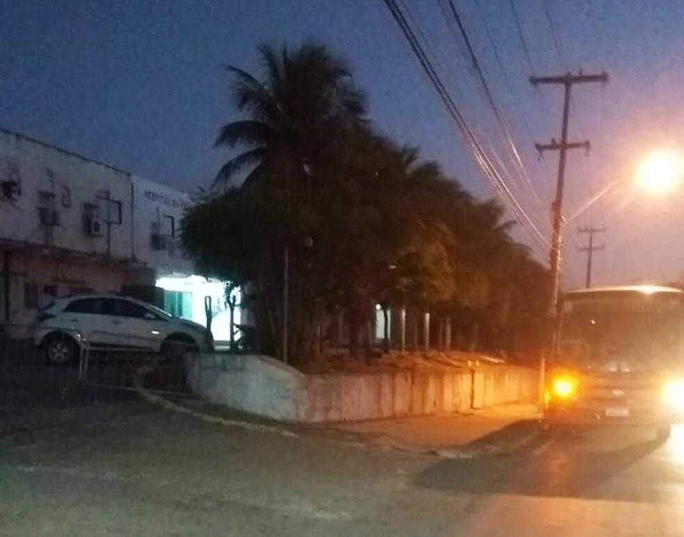 Maioria dos socorridos foi levada para o Hospital da Polícia Militar — Foto: ABM-RN