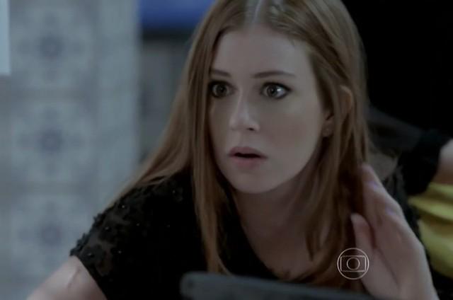 Marina Ruy Barbosa como Maria Ísis em cena de 'Império' (Foto: Reprodução)