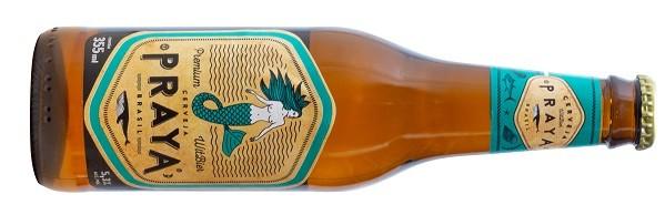 A cerveja artesanal Praya