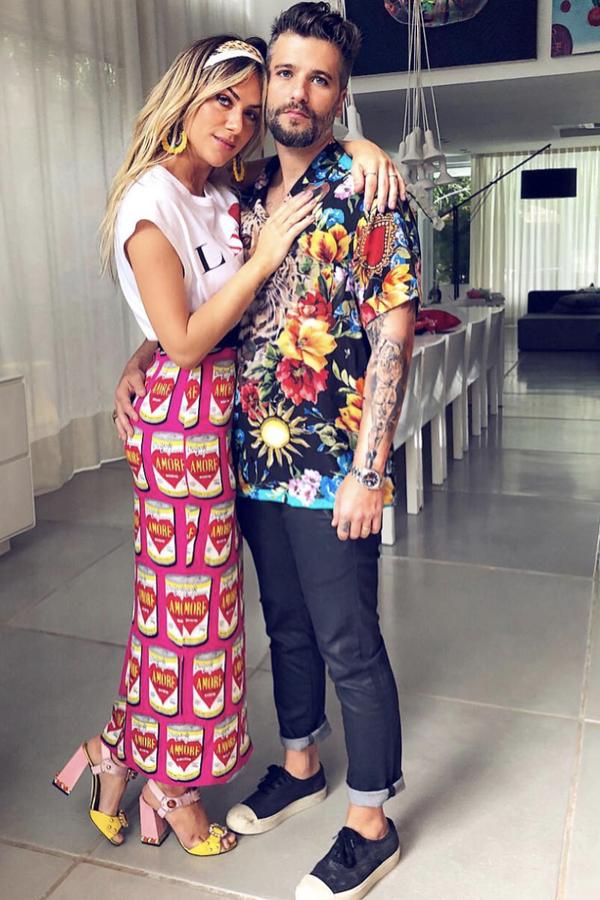 Giovanna Ewbank e Bruno Gagliasso (Foto: Reprodução Instagram)