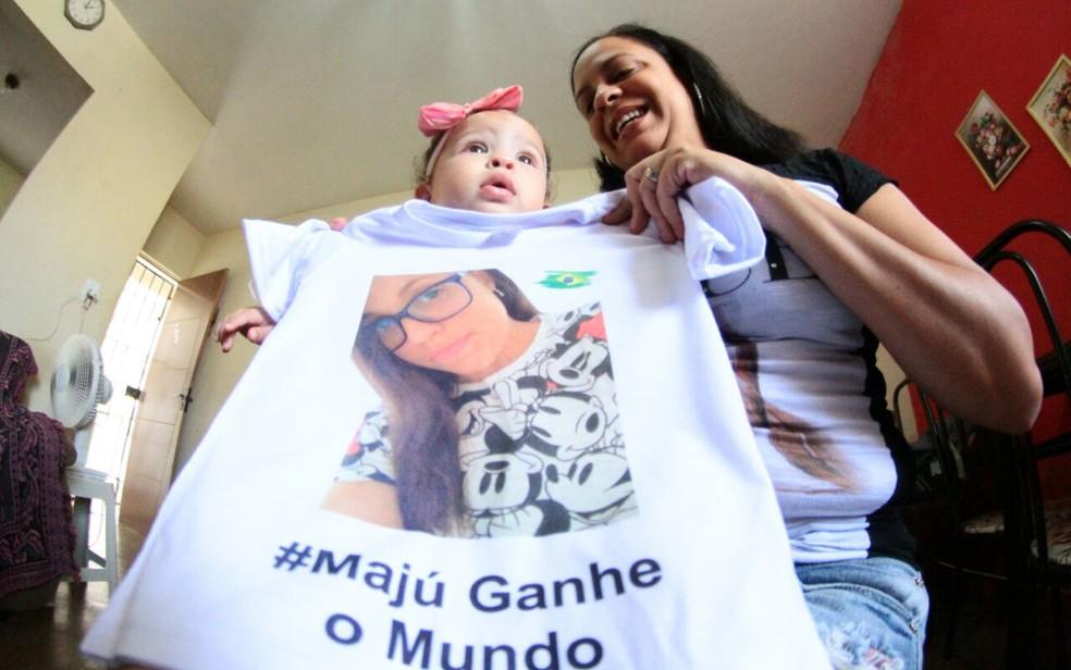Maria Júlia vai passar o Dia das Mães em intercâmbio, longe da mãe, Daniela (Foto: Aldo Carneiro/Pernambuco Press)
