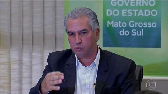 PF faz buscas na casa e no gabinete de Reinaldo Azambuja, governador de MS