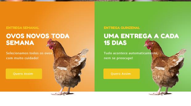 """O Site do Ovo foi inspirado no famoso """"carro do ovo"""" (Foto: Divulgação)"""