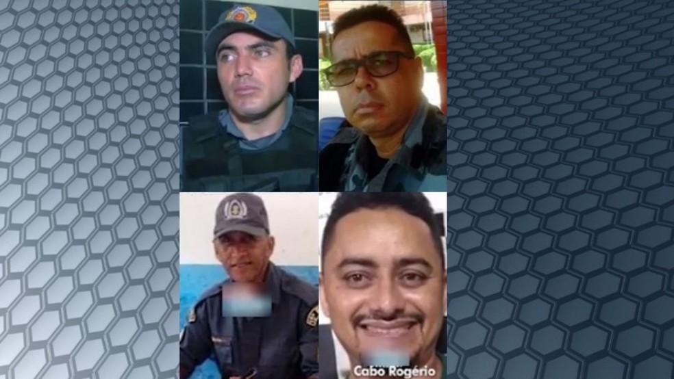 Policiais suspeitos da morte de comerciante em Bacabal  — Foto: Reprodução