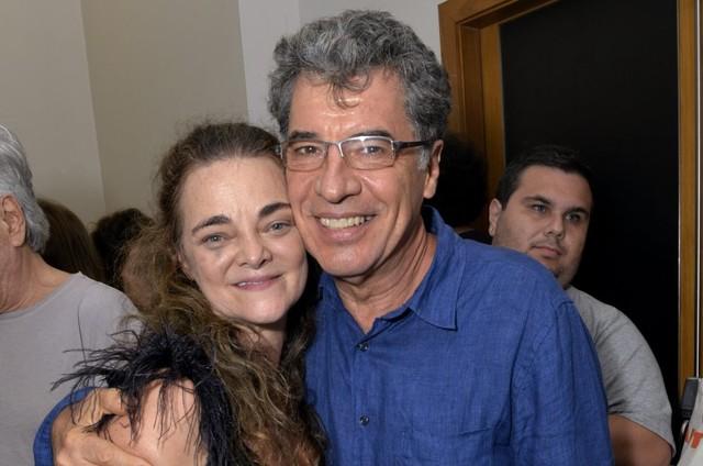 Inês Peixoto e Paulo Betti (Foto: Cristina Granato)