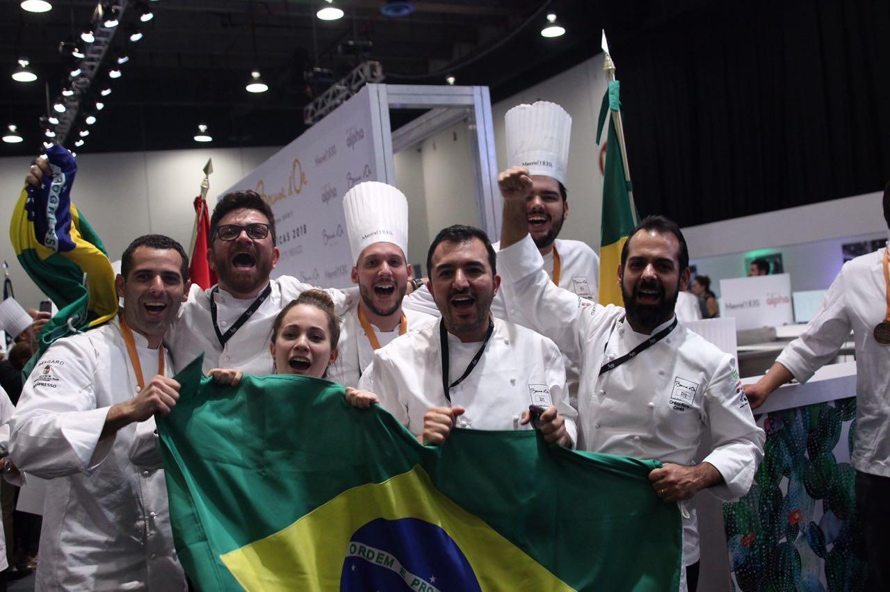 Chef brasileiro está na final de concurso mundial