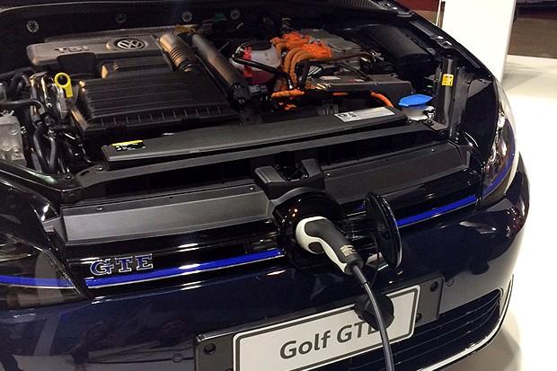 Golf GTE (Foto: Autoesporte)