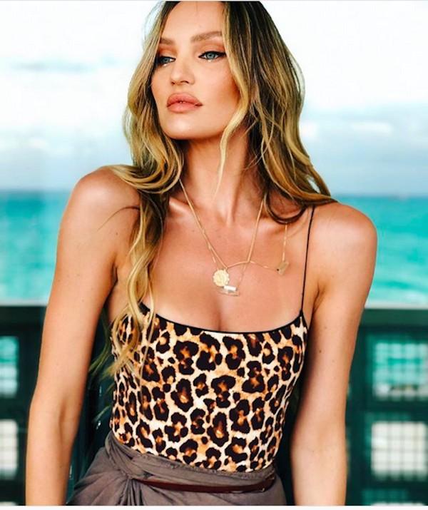 A modelo Candice Swanpoel (Foto: Instagram)