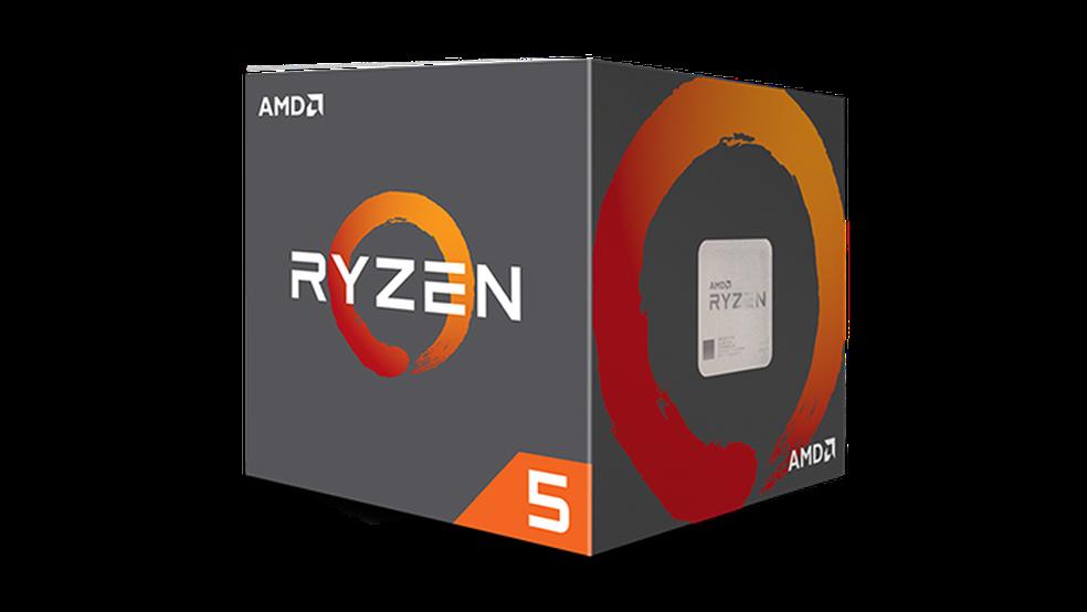 Ryzen R5 1400 é um quad-core que bate o Core i5 7400 (Foto: Divulgação/AMD)