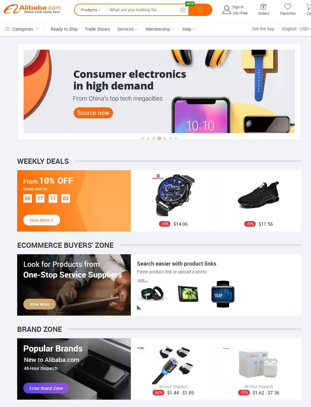Alibaba permitirá que empresas dos EUA vendam em seu site - Notícias - Plantão Diário