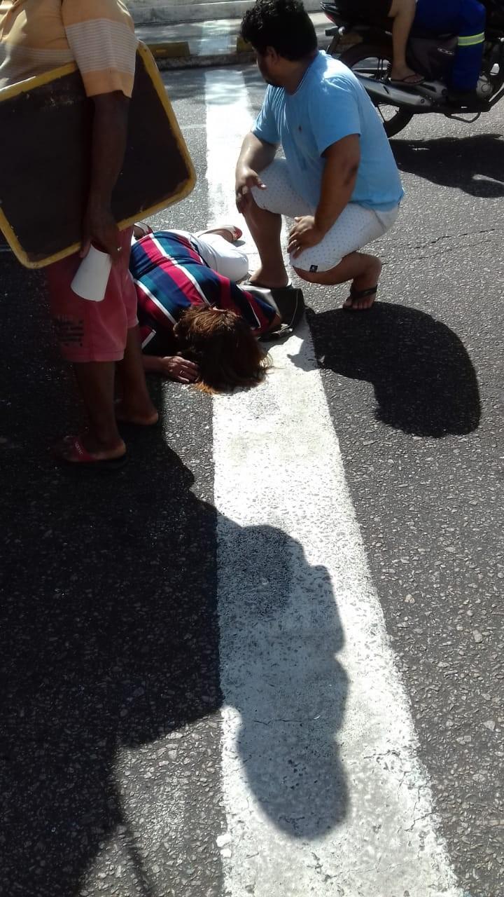 Mulher é lançada para fora de ônibus durante acidente na Almirante Barroso, em Belém - Notícias - Plantão Diário