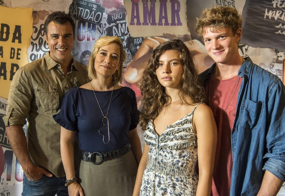 Nova temporada de 'Malhação' traz histórias de amor que se cruzam — Foto: Globo/Estevam Avellar