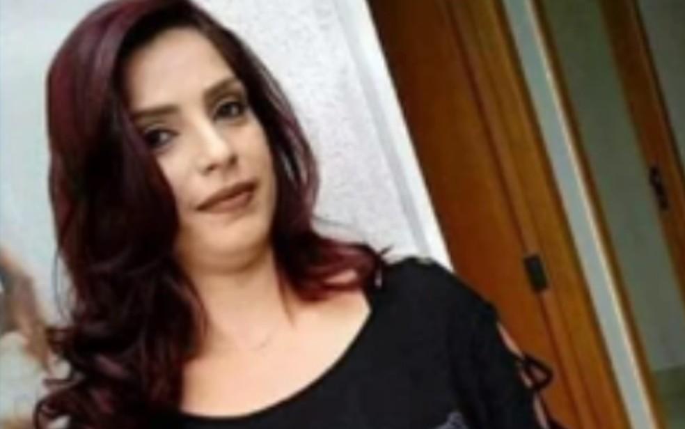 Lorraine Fernandes desapareceu após sair para ir ao banco em Inhumas (Foto: TV Anhanguera/ Reprodução)