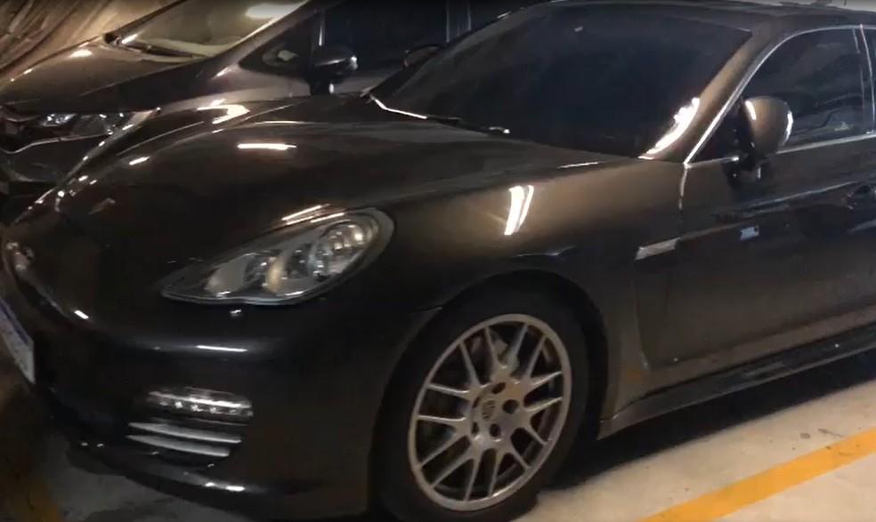 Veículo de luxo é apreendido em operação da PF — Foto: Reprodução