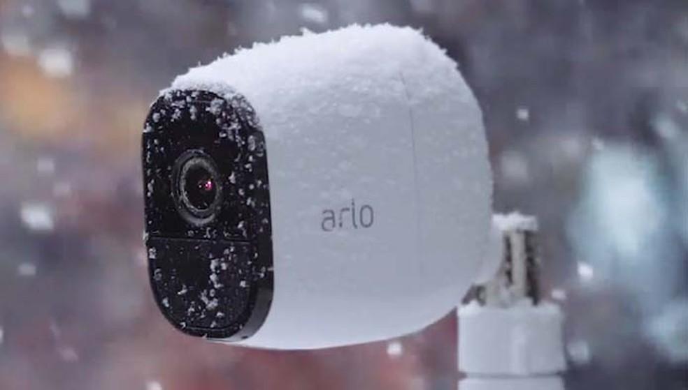 Netgear Arlo Pro é super-resistente a diferentes condições climáticas (Foto: Divulgação/Netgear)