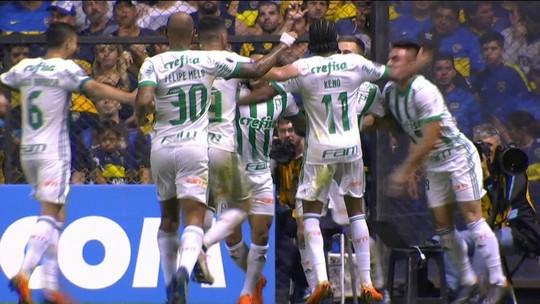Pressão? Palmeiras vence Boca Juniors diante de quase 50 mil na Bombonera