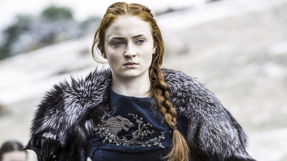 Sophie Turner em Game of Thrones (Foto: Divulgação)