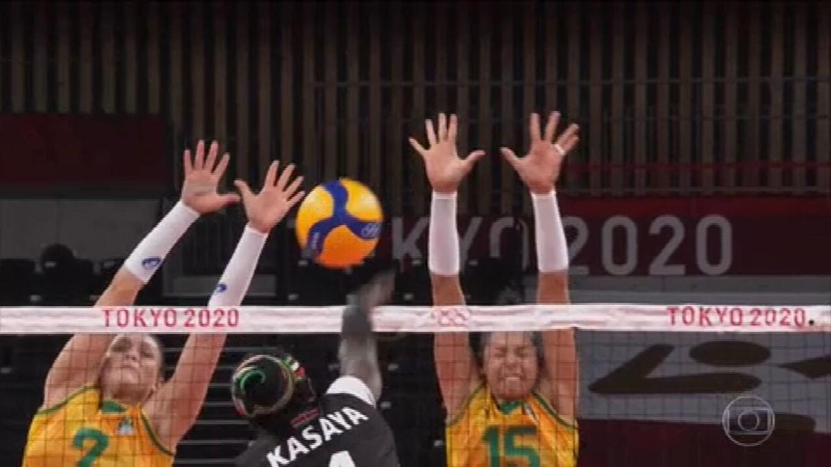 Seleção feminina de vôlei segue invicta para as quartas de final