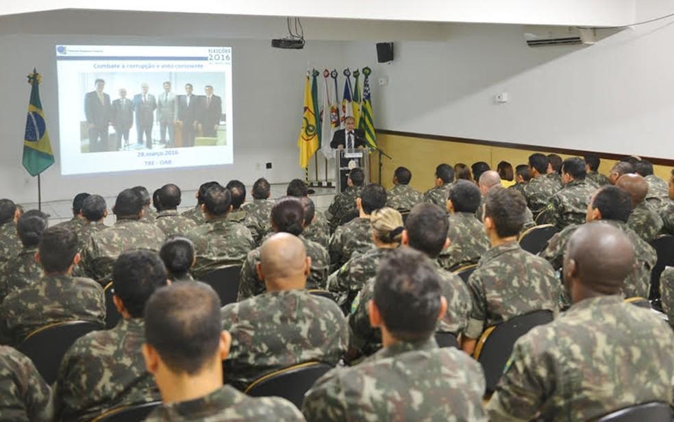 TRE pede tropas federais em municípios do Maranhão — Foto: Divulgação/TRE-MA