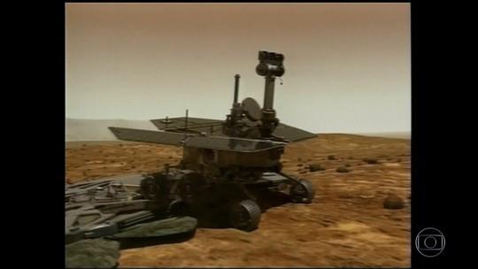 Nasa anuncia fim das atividades do robô Opportunity após 8 meses sem contato