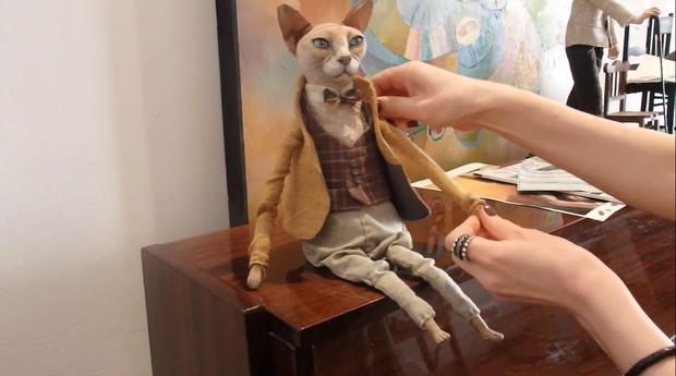 Bonecos criados pela artista Elena Alekhina (Foto: Reprodução/Youtube/marmulyana)