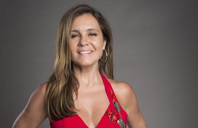 Laureta (Adriana Esteves) agenciará vários garotos de programa e prostitutas, incluindo Ícaro (Chay Suede) e Rosa (Leticia Colin) (Foto: GLOBO/João Cotta)
