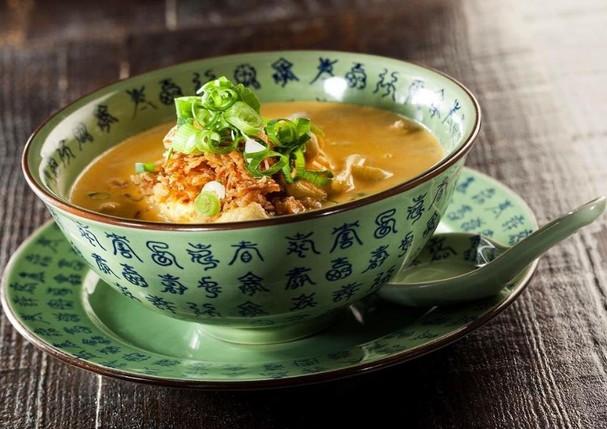 Especiarias no prato Malaysian Yellow Curry, do Boa-Bao (Foto: Reprodução/Instagram)