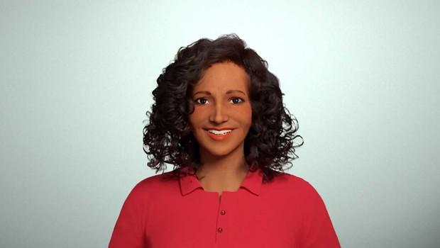 Carina, assistente virtual do Carrefour, foi eleita por votação popular (Foto: Divulgação)