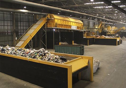 Uma das unidades da empresa Estre (Foto: Reprodução/Site oficial)