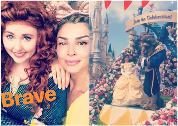 Grazi Massafera curtindo parque da Disney (Foto: Reprodução/Instagram)