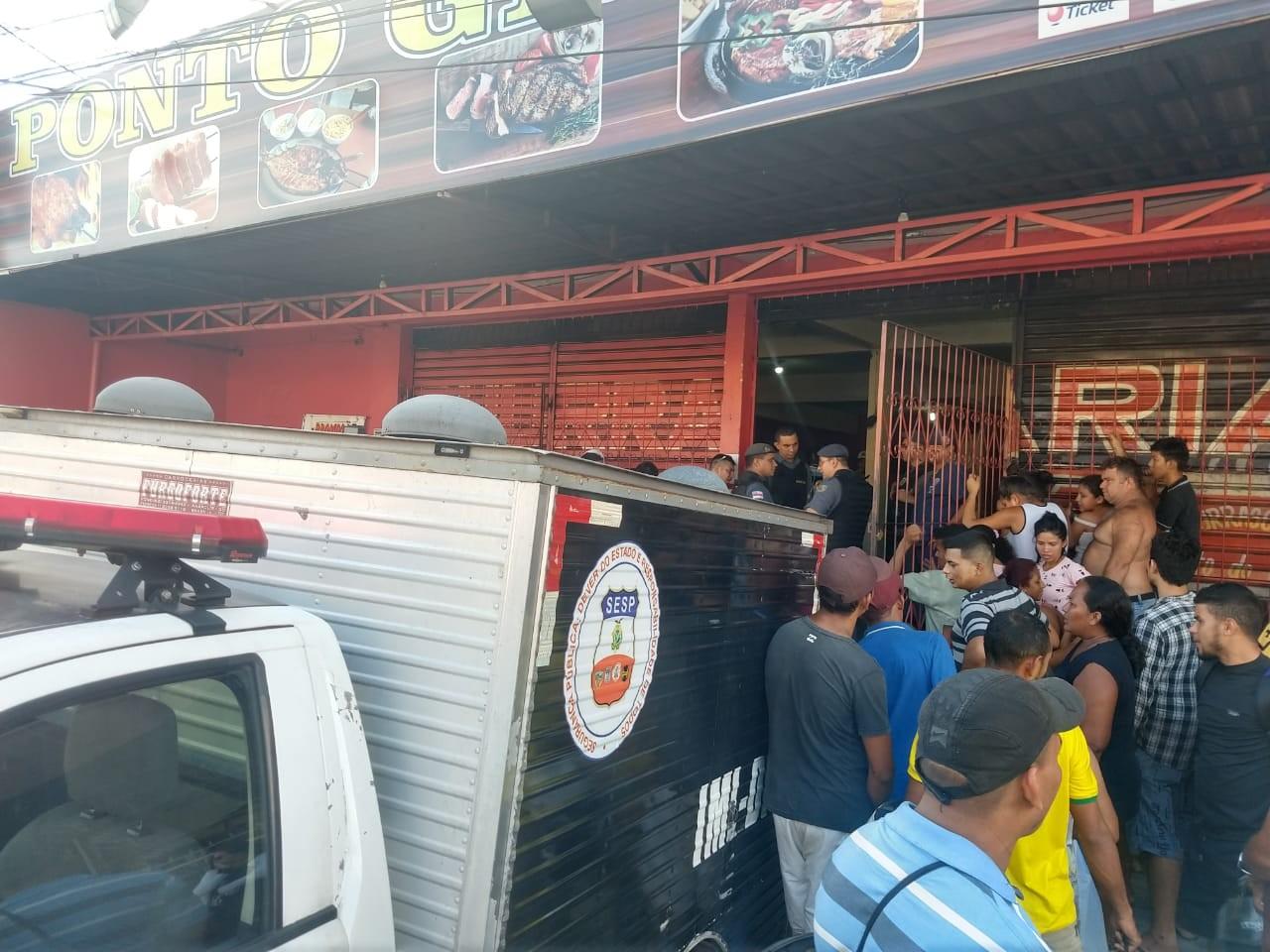 Homem morre em tentativa de assalto a restaurante na Zona Leste de Manaus