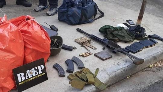 Foto: ( Polícia Militar/Baep/Divulgação)